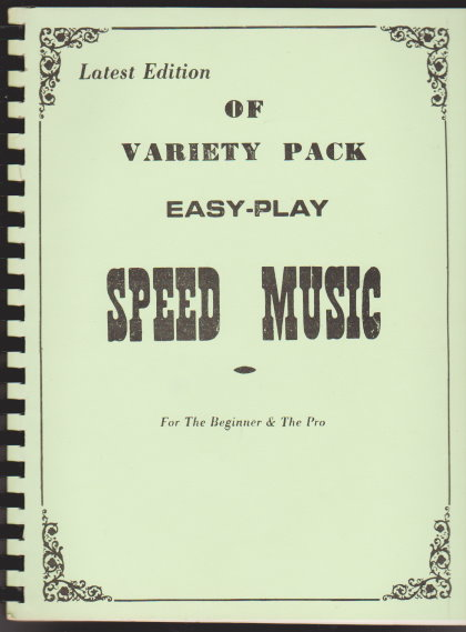 Image for Latest Edition of Variety Pack Easy Play Speed Music :  For the Beginner and the Pro