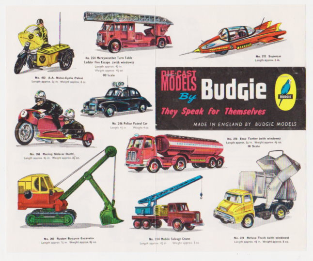 Image for Die Cast Models by Budgie :  They Speak for Themselves