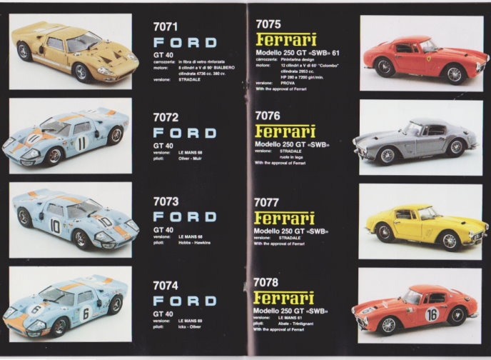 Image for Bang Scale Model Cars for Collectors :  High Quality Models, Catalog 1