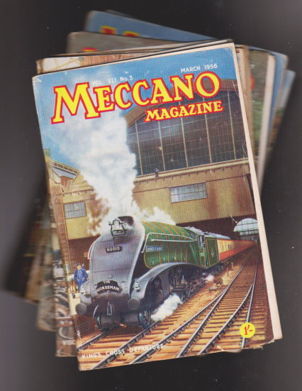 Image for Mecanno Magazine, Lot of 15 Issues :  From Volume 41, Number 3, March 1956, to Volume 45 Number 4, April 1960, with gaps