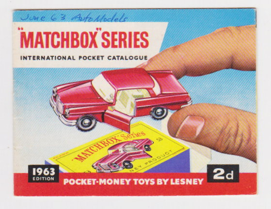 Image for Matchbox Series International Pocket Catalogue 1963 :  Pocket-Money Toys by Lesney