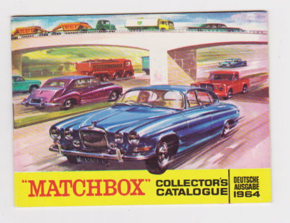 Image for Matchbox Models Collector's Catalogue 1964 :  Deutsche Ausgabe, German Edition