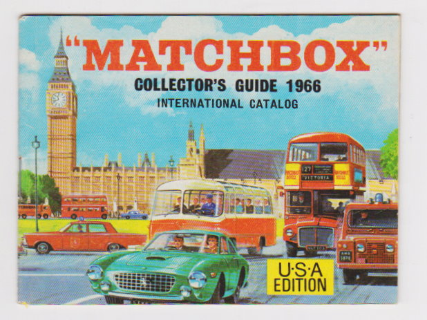 Image for Matchbox 1966 Collector's Guide, International Catalog :  USA Edition