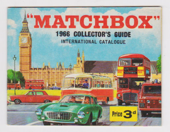 Image for Matchbox 1966 Collector's Guide International Catalogue :  UK Edition