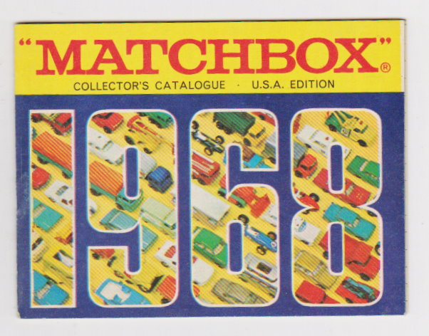 Image for Matchbox Collector's Catalog :  USA Edition 1968