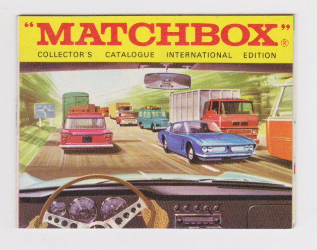 Image for Matchbox Collector's Catalog, International Edition :  1969