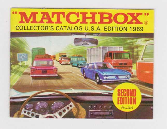 Image for Matchbox Collectors Catalog, USA Edition, 2nd Edition :  1969