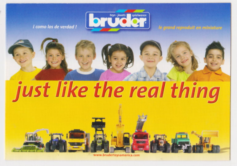 Image for Bruder, Just like the Real Thing :  Toys, Jouets, Spielwaren