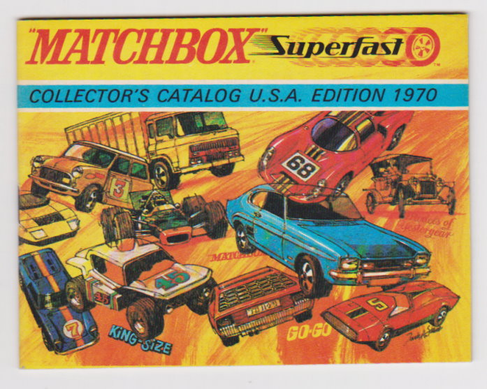 Image for Matchbox Superfast Collector's Catalog :  USA Edition 1970