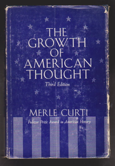 Image for Growth of American Thought, the :  3e, 3rd Edition, 1964