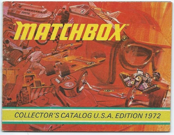 Image for Matchbox Collector's Catalog :  USA Edition 1972
