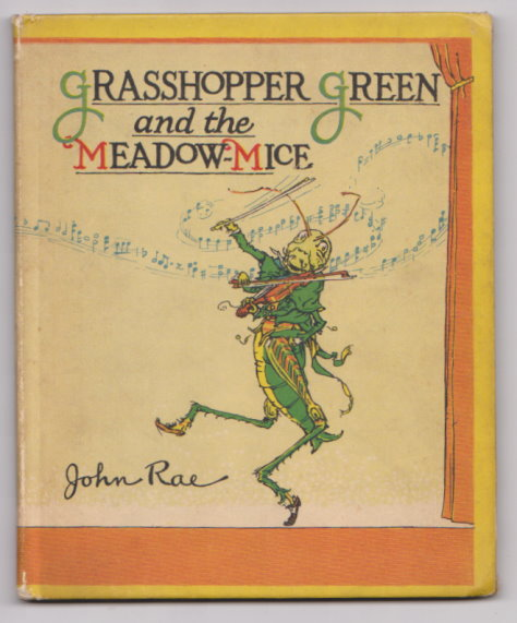 Image for Grasshopper Green and the Meadow-Mice