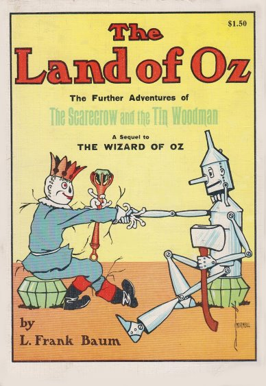 Image for Land of Oz, the :   (Softbound Reprint, 1980s)
